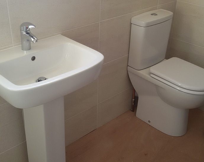 Complete bathroom fitting in Grimsby