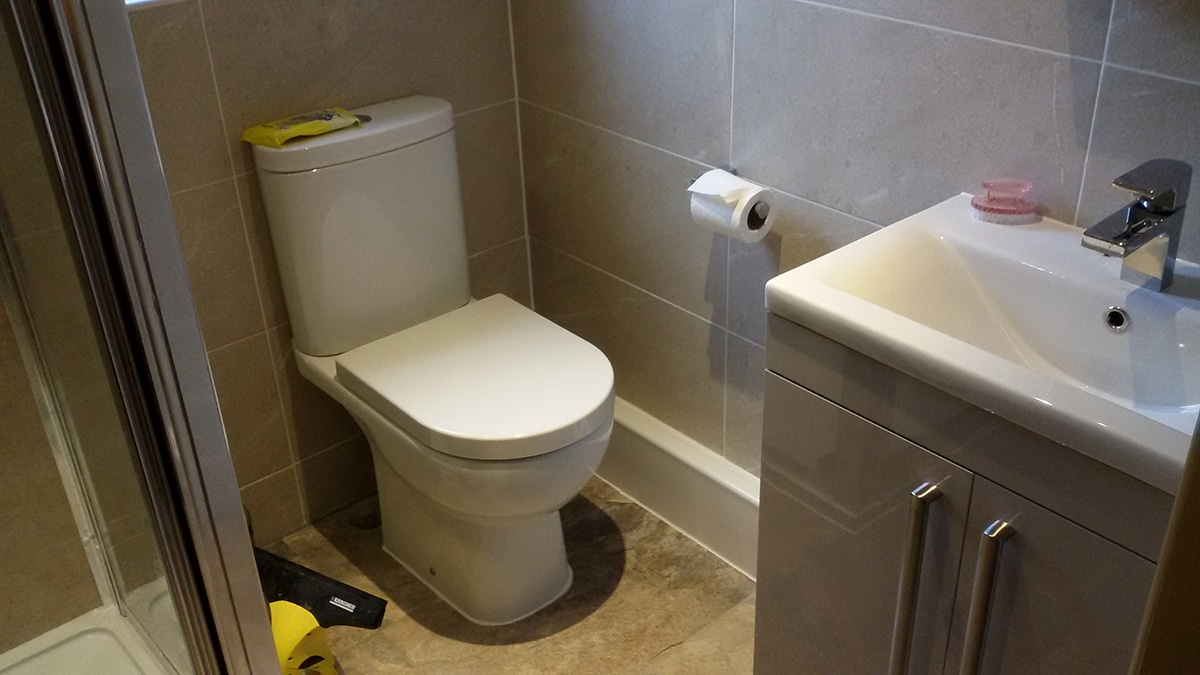 Shower room fitting in Grimsby and Louth