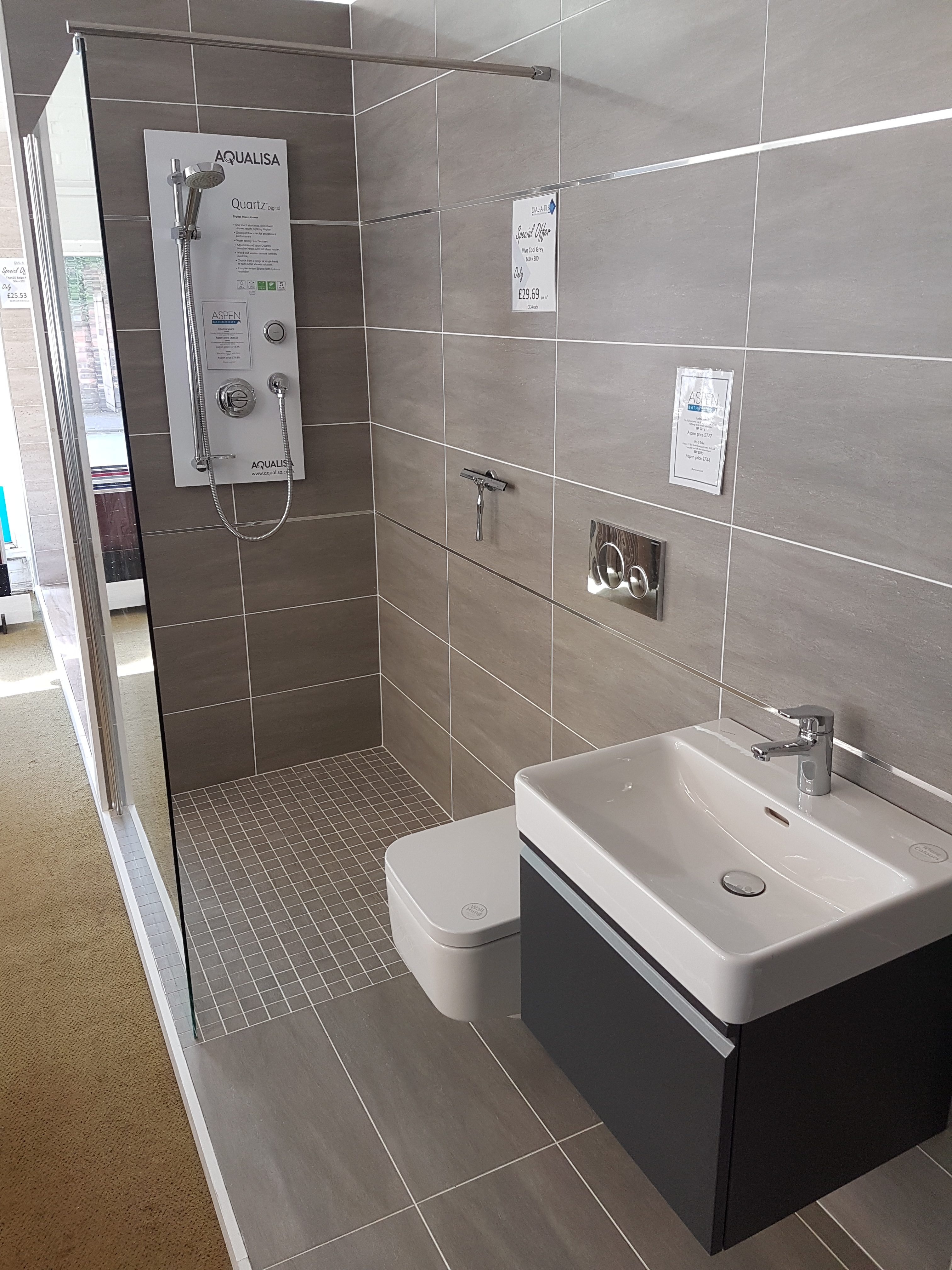 Louth Showroom | Aspen Bathrooms
